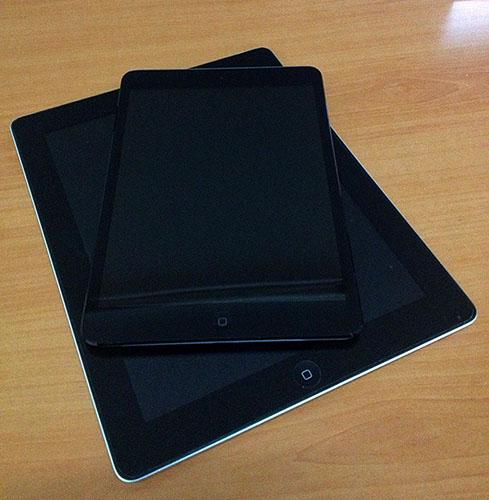 iPad 2 vs iPad Mini
