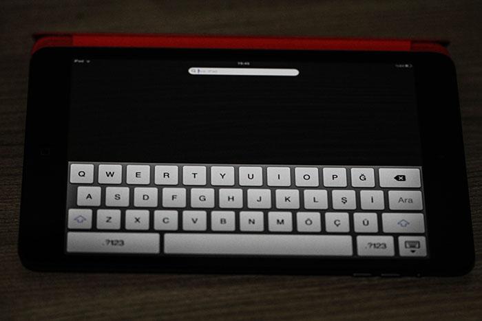iPad Mini Klavye