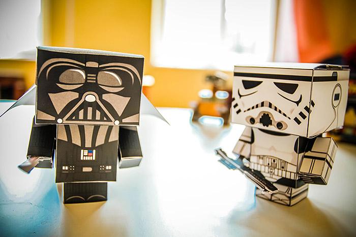 Darth Vader ve Storm Trooper