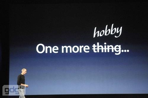 Apple TV not hobby