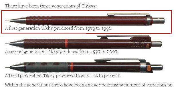 Bir kalem ancak bu kadar kötü bir şekilde evrilip zaman içerisinde tasarımı kötüleşebilir.